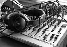 παραγωγή της μουσικής Στοκ φωτογραφία με δικαίωμα ελεύθερης χρήσης