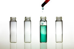 Παραγωγή της δοκιμής pH Στοκ Εικόνες