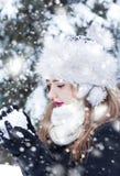 παραγωγή της χιονιάς στοκ φωτογραφία με δικαίωμα ελεύθερης χρήσης