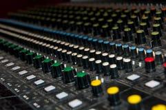 Παραγωγή των ήχων Στοκ εικόνα με δικαίωμα ελεύθερης χρήσης