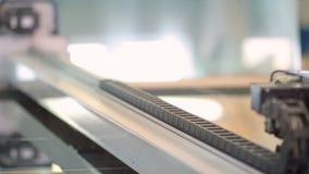 Παραγωγή των πλαστικών παραθύρων απόθεμα βίντεο