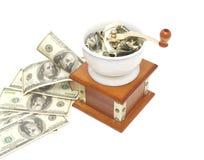 παραγωγή των χρημάτων Στοκ εικόνα με δικαίωμα ελεύθερης χρήσης