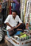 Παραγωγή Paan σε Kolkata Στοκ Εικόνα