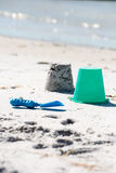 παραγωγή sandcastle Στοκ Εικόνες