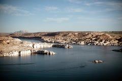 Παραγωγικές εγκαταστάσεις δύναμης Ναβάχο στην Αριζόνα Στοκ Εικόνα