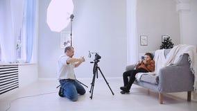 Παραγωγός ταινιών στο σύνολο απόθεμα βίντεο