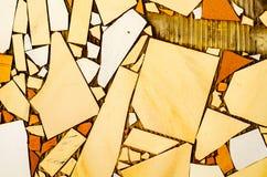 Παραδοσιακά διακοσμητικά ισπανικά διακοσμητικά κεραμίδια, αρχικό cerami στοκ εικόνες