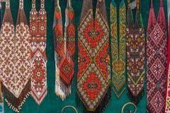 Παραδοσιακά ζωηρόχρωμα ουκρανικά σχέδια Στοκ Εικόνες