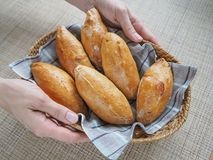 Παραδοσιακά καυτά ρωσικά pattys με το λάχανο ακριβώς από το φούρνο Στοκ φωτογραφία με δικαίωμα ελεύθερης χρήσης