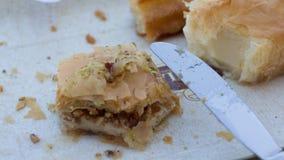 Παραδοσιακά κυπριακά γλυκά - Baklava στοκ φωτογραφίες με δικαίωμα ελεύθερης χρήσης