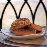 Παραδοσιακά λιβανέζικα μπισκότα Στοκ φωτογραφία με δικαίωμα ελεύθερης χρήσης