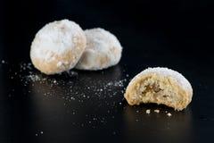 Παραδοσιακά μπισκότα Eid, μουσουλμάνος μικρότερα πρόχειρα φαγητά διακοπών Στοκ φωτογραφία με δικαίωμα ελεύθερης χρήσης