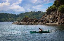 Παραδοσιακά ξύλινα αλιευτικά σκάφη στοκ εικόνες