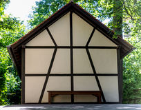 Παραδοσιακά παλαιά γερμανικά σπίτια Στοκ φωτογραφία με δικαίωμα ελεύθερης χρήσης