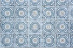 Παραδοσιακά περίκομψα πορτογαλικά διακοσμητικά κεραμίδια στοκ φωτογραφίες με δικαίωμα ελεύθερης χρήσης