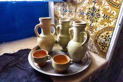 Παραδοσιακά πιατικά στο Μοναστίρ, Τυνησία στοκ φωτογραφία με δικαίωμα ελεύθερης χρήσης
