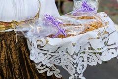 Παραδοσιακά σαρδηνιακά γλυκά Στοκ φωτογραφίες με δικαίωμα ελεύθερης χρήσης