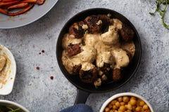 Παραδοσιακά σουηδικά κεφτή βόειου κρέατος Στοκ Εικόνες