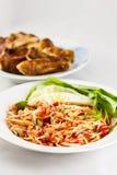 Παραδοσιακά ταϊλανδικά τρόφιμα Στοκ Φωτογραφίες