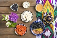 Παραδοσιακά του Ουζμπεκιστάν γλυκά στοκ εικόνες με δικαίωμα ελεύθερης χρήσης