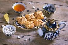 Παραδοσιακά του Ουζμπεκιστάν γλυκά στοκ φωτογραφίες