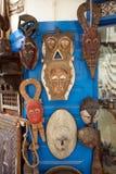 Παραδοσιακές αφρικανικές μάσκες Στοκ Φωτογραφίες