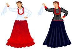 παραδοσιακές γυναίκες Στοκ φωτογραφία με δικαίωμα ελεύθερης χρήσης