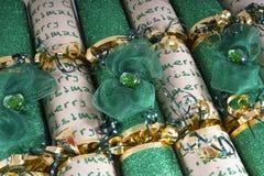 Παραδοσιακές κροτίδες Χριστουγέννων Στοκ Εικόνες