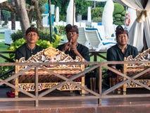 Παραδοσιακή από το Μπαλί εκτέλεση μουσικών στοκ φωτογραφίες με δικαίωμα ελεύθερης χρήσης