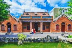 Παραδοσιακή αρχιτεκτονική κολλεγίων της Οξφόρδης Στοκ φωτογραφία με δικαίωμα ελεύθερης χρήσης