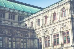 Παραδοσιακή αρχιτεκτονική στην παλαιά πόλη στη Βιέννη, Αυστρία στοκ φωτογραφία με δικαίωμα ελεύθερης χρήσης