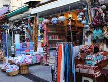 Παραδοσιακή ασιατική αγορά Bazaar στην Τουρκία, Antalya Στοκ φωτογραφία με δικαίωμα ελεύθερης χρήσης