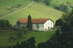 Παραδοσιακή βασκική κατοικία Στοκ φωτογραφίες με δικαίωμα ελεύθερης χρήσης