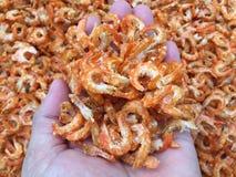 Παραδοσιακή βιετναμέζικη κουζίνα: ξηρές γαρίδες Στοκ Εικόνες