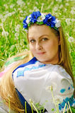 παραδοσιακή γυναίκα κο&si Στοκ Φωτογραφίες