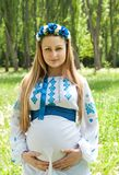 παραδοσιακή γυναίκα κο&si Στοκ Εικόνα