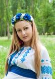 παραδοσιακή γυναίκα κο&si Στοκ Φωτογραφία