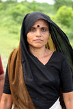 παραδοσιακή γυναίκα φορ Στοκ Εικόνες