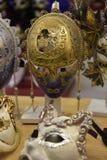 Παραδοσιακή ενετική μάσκα στο κατάστημα στην οδό, Βερόνα Ιταλία Στοκ Φωτογραφία
