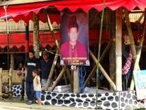 Παραδοσιακή νεκρική τελετή Toraja, Rantepao, Celebes, Ινδονησία στοκ εικόνες