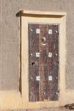 Παραδοσιακή πόρτα, Djenné. στοκ φωτογραφίες