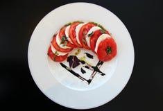 Παραδοσιακή σαλάτα Caprese Στοκ Εικόνες
