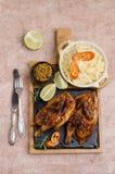 Παραδοσιακή τηγανισμένη Cornish κότα στοκ φωτογραφία με δικαίωμα ελεύθερης χρήσης