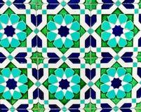 Παραδοσιακή του Ουζμπεκιστάν διακόσμηση κεραμική Στοκ Εικόνα