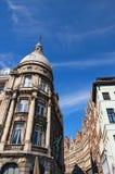 Παραδοσιακή φλαμανδική αρχιτεκτονική στο κέντρο πόλεων της Αμβέρσας στην ηλιόλουστη ημέρα Αμβέρσα ολλανδικά: Antwerpen, Βέλγιο Στοκ Εικόνα