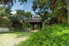 Παραδοσιακοί προορισμοί ταξιδιού θερέτρου και φύσης thail Στοκ Φωτογραφία