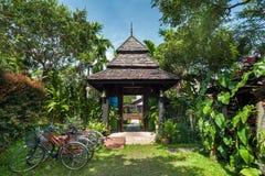 Παραδοσιακοί προορισμοί ταξιδιού θερέτρου και φύσης thail Στοκ Εικόνες