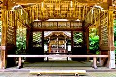 Παραδοσιακός ναός της Ιαπωνίας Στοκ Εικόνα