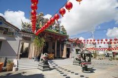 Παραδοσιακός νότιος κινεζικός ναός στο Ταϊνάν, Ταϊβάν στοκ φωτογραφίες