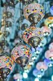 παραδοσιακός τουρκικός τρύγος λαμπτήρων Στοκ Εικόνες